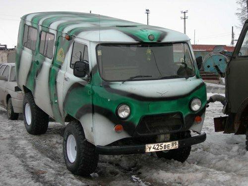 Тюнинг УАЗ Буханка